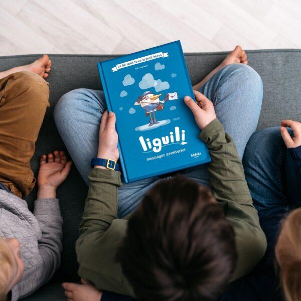 Liguili, la BD dont tu es le petit héro