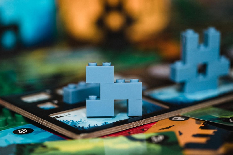 Temple rush Jacob's Brick Games lego boardgame jeu de société Blackrock games