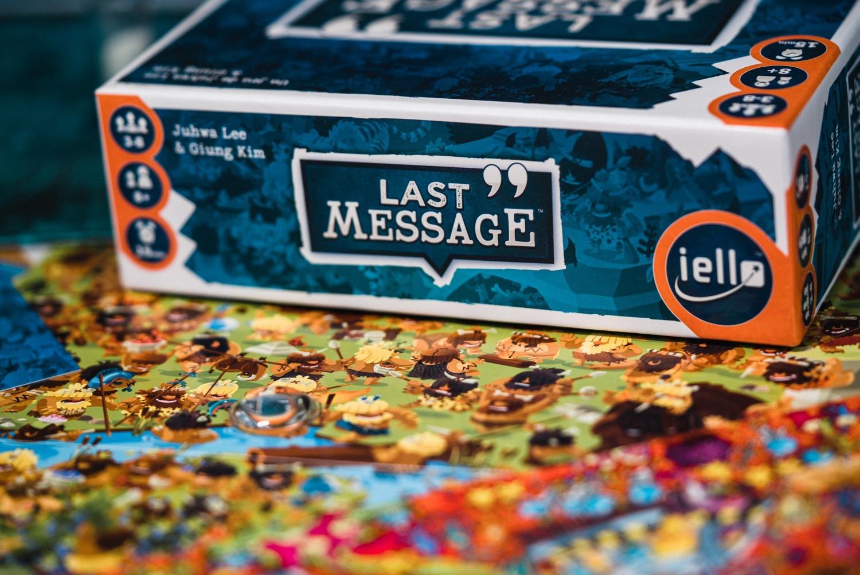 Last message iello boardgame jeu de société