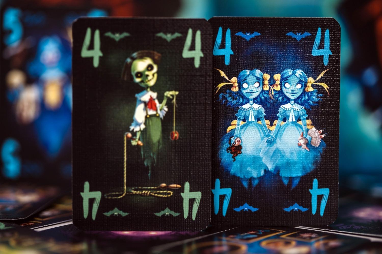 Rest in peace blue cocker boardgame jeu de société deux joueurs