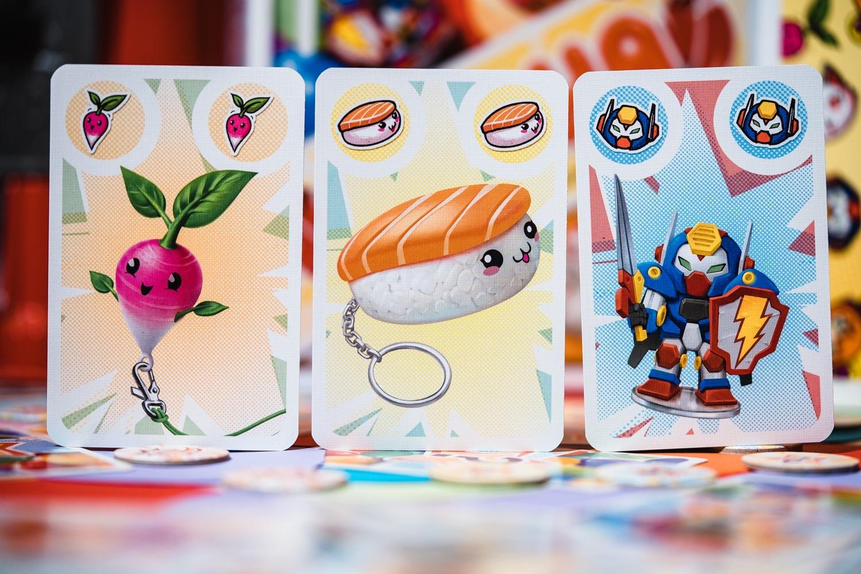 Gasha bankiiiz jeu de société boardgame photography