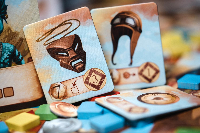 Periple Lucky duck games jeu de société boardgame
