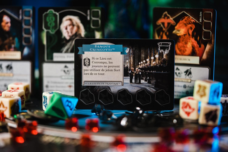 Harry Potter : l'Ascension des Mangemorts Lucky duck games boardgame jeu de société