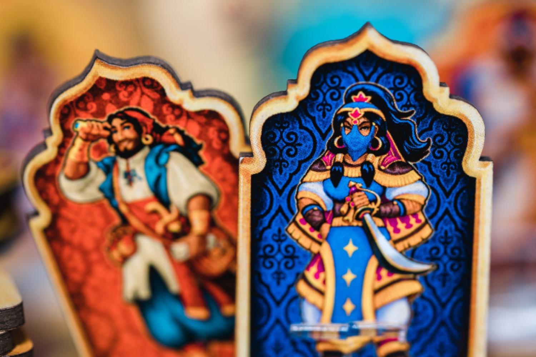tiles of arabian night Holy Grail Games boardgame jeu de société