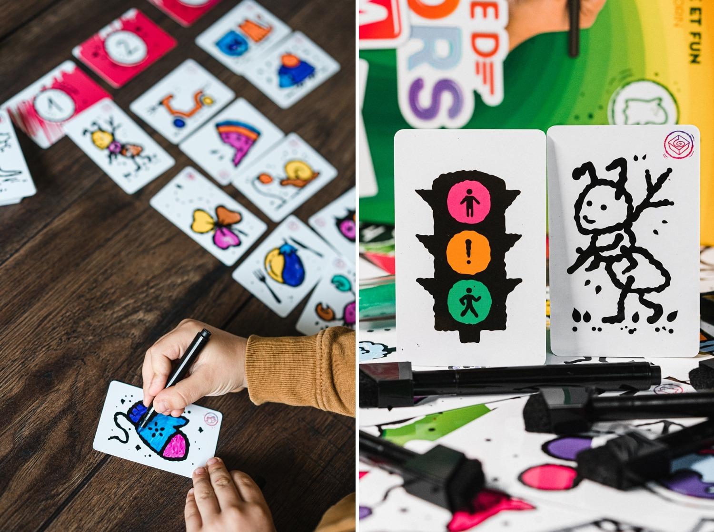 Speed colors team lifestyle boardgames jeu de société